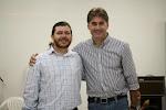 Pastor Everaldo Borges e Deputado Paranhos