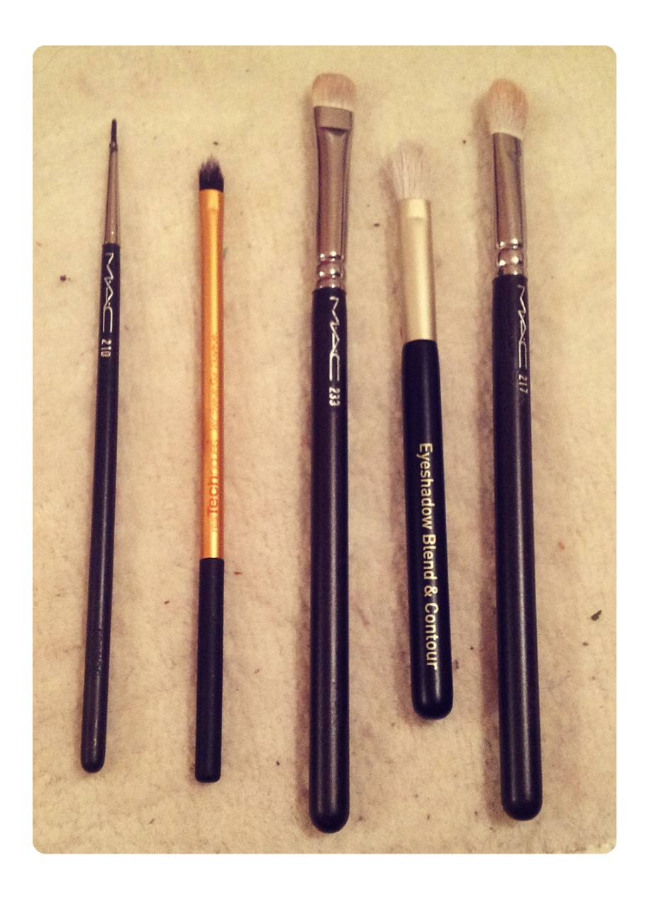 Smeemies: My Everyday Makeup Brushes