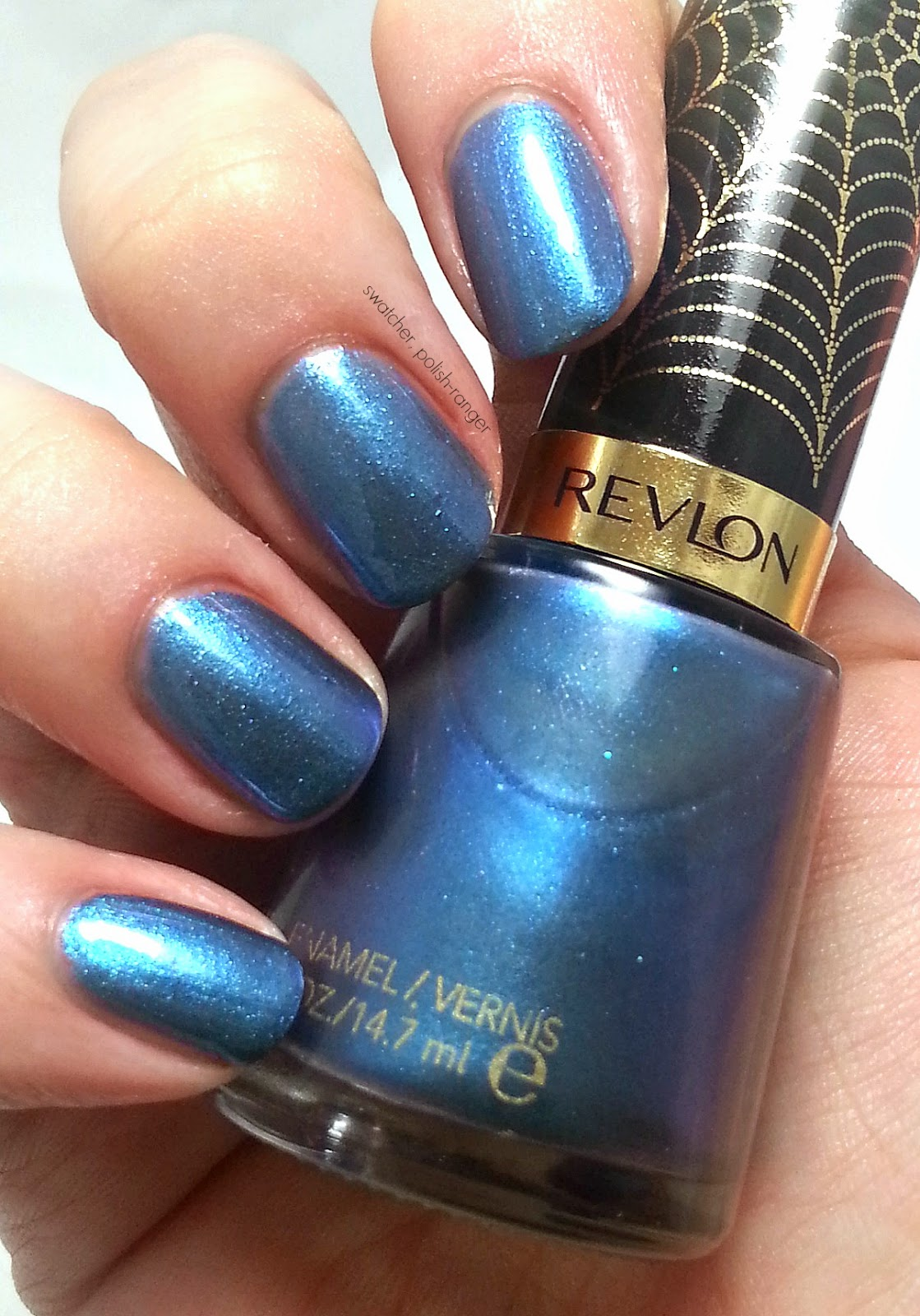 Revlon Electric Chrome Collection LE I'm Electro swatch