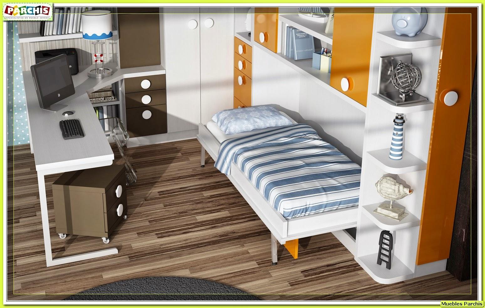Cama mesa abatible camas autoportantes camas abatibles horizontales con armarios camas - Camas abatibles en madrid ...