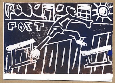 Graeme Newton's postcard