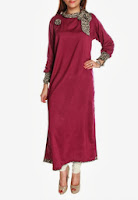 Latest Pakistani Designer Kurta, Kurta, Kurti, Pakistani Designer, Latest Kurta Designs, Kurta Designs, Stitched rose and Contrast Kurta, Stiched Kurta, Grapes Design, Designs of Grapes, U.K, pakistan Design Kurta in U.K,