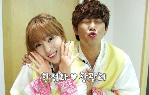 Kwanghee & Sunhwa Hanbok