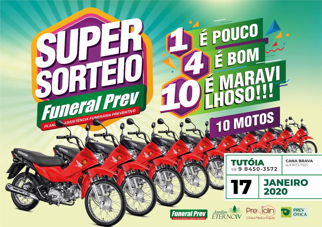 Super sorteio Funeral Prev 2020