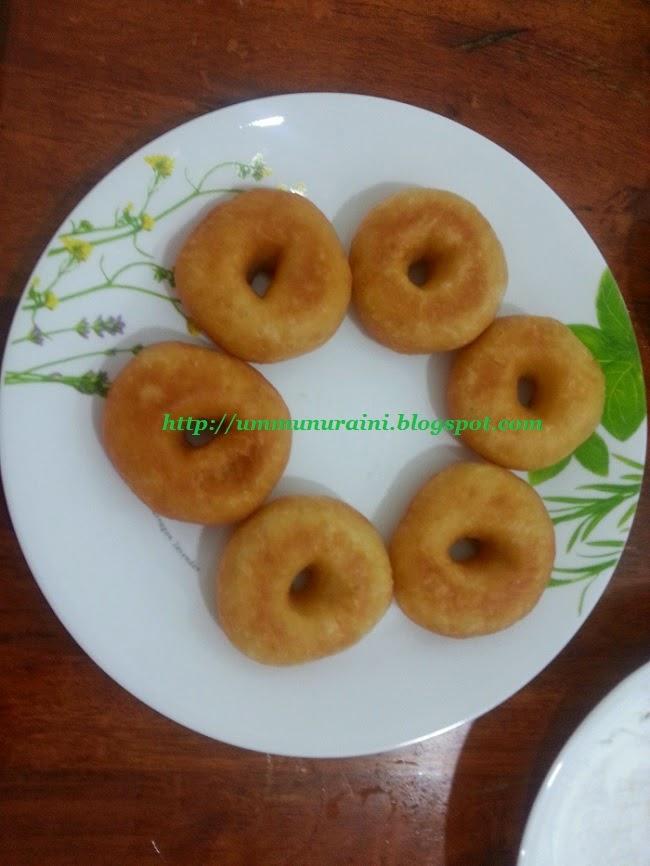 resepi donut mudah