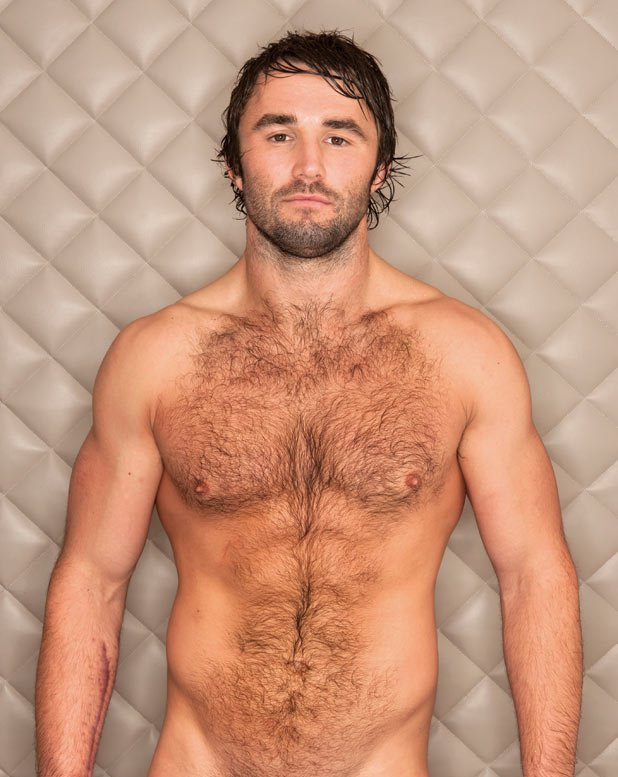 He was recently voted Britian's manliest man and posed for Britain's ...