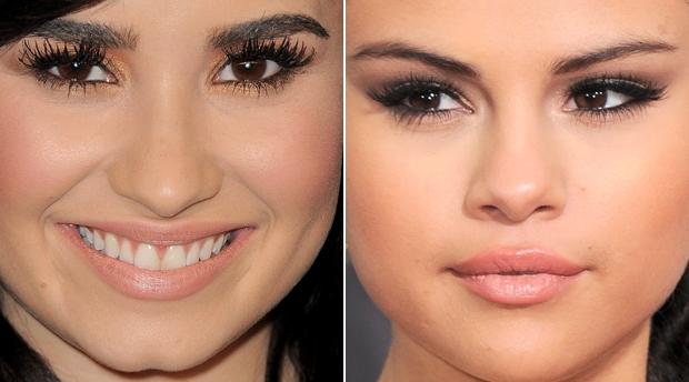 Maquiagem com tons angelicais