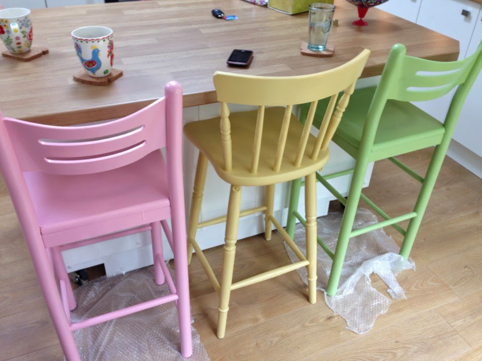 pastel wooden breakfast chairs & BusyBee | UK Crafty Talipes Baby and Lifestyle Blog: Pastel wooden ...