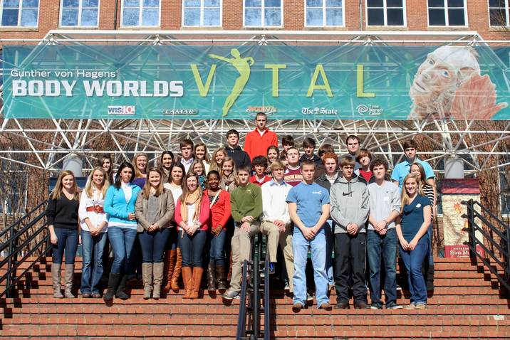 Body worlds vital and usc forensics visit