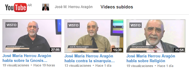 Videos de Herrou Aragón