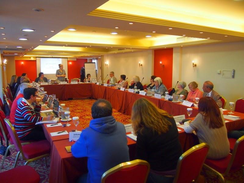 Momento de la asamblea general anual de ADHD-Europe