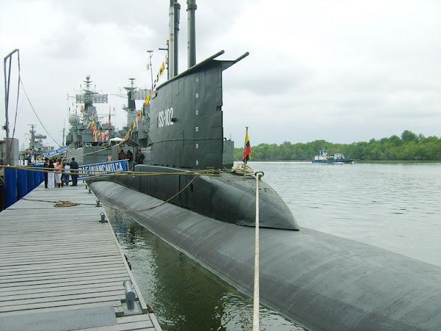 Ecuador invertirá $125 millones, modernizar dos submarinos