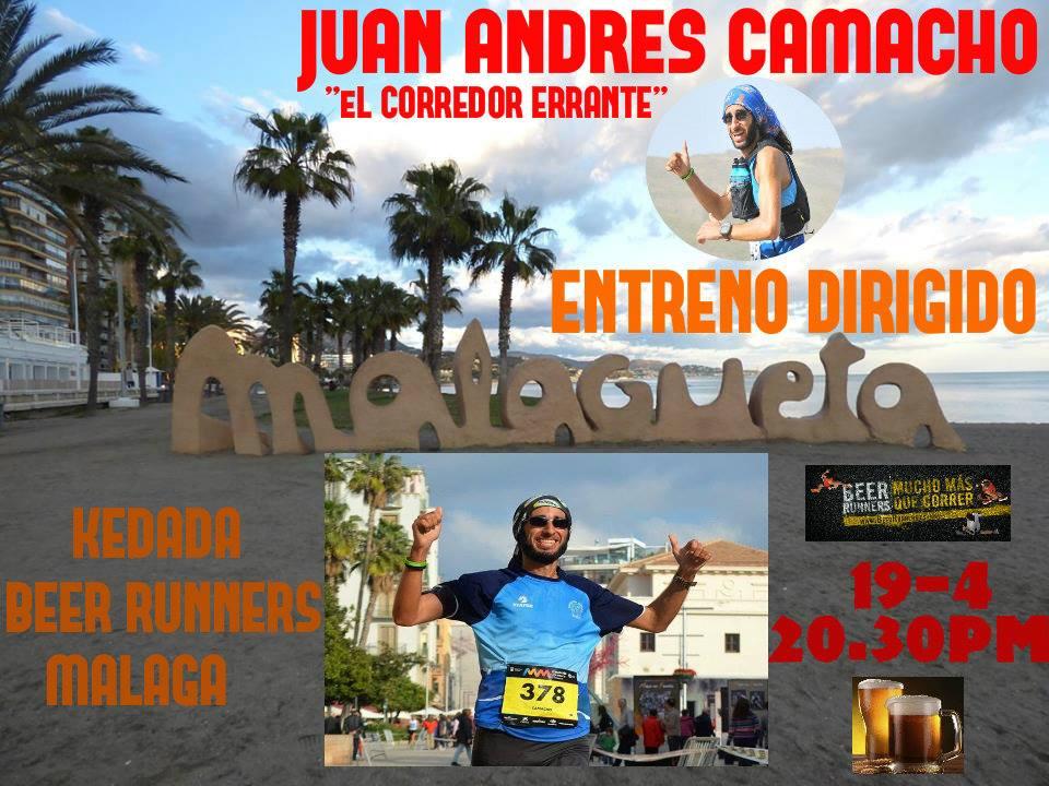 """JUAN ANDRES CAMACHO """"EL CORREDOR ERRANTE"""""""