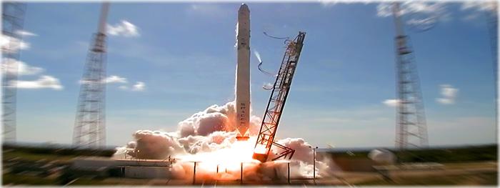 foguete da SpaceX explode após lançamento