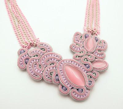 sutasz naszyjnik  soutache necklace  7