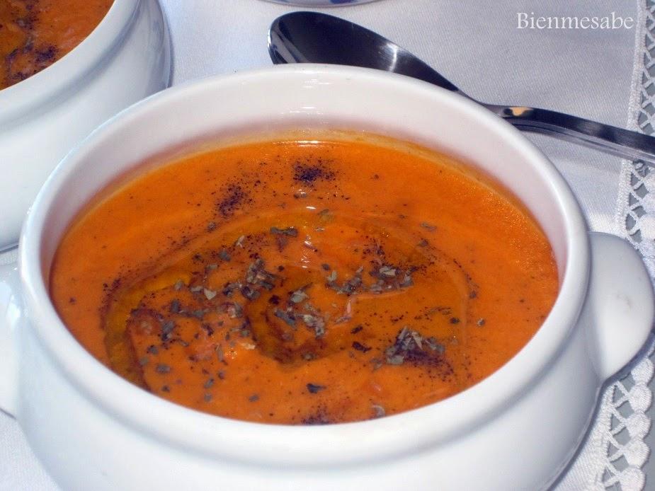 crema fria de tomate, zanahoria y apio1