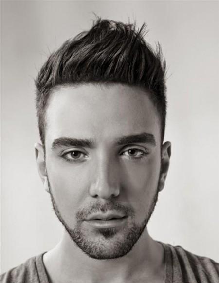 El hombre elegante cortes de pelo y peinados para hombres - Peinados hombres con entradas ...