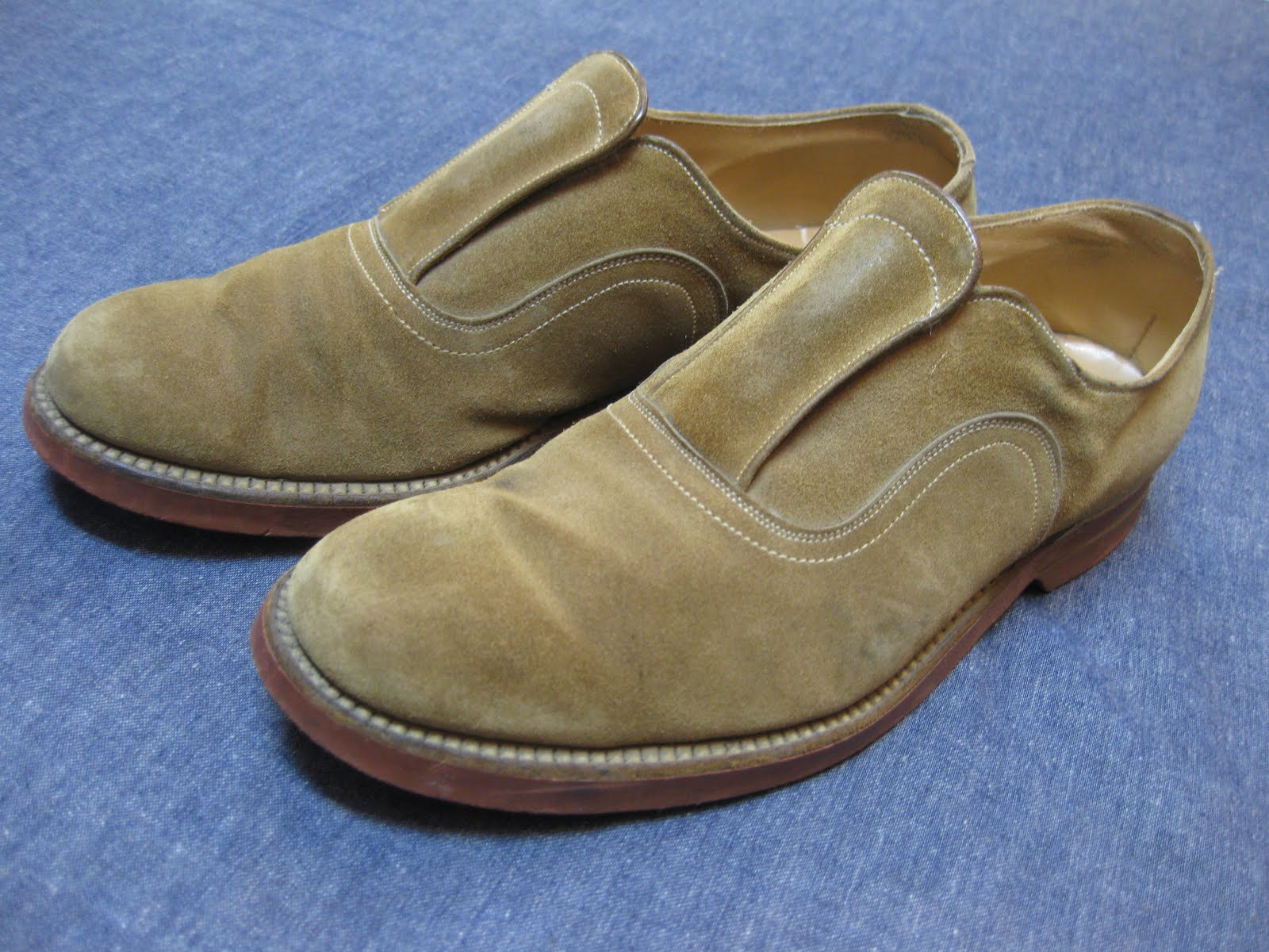 50's SUEDE FLAP SHOES
