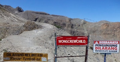 kawasan kunjungan gunung kelud kediri