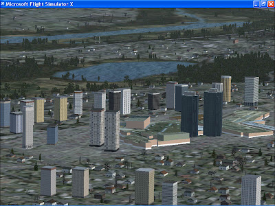 Metrotown Burnaby, Flight Simulator X