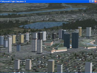 Metrotown Burnaby, Flight Simulator X