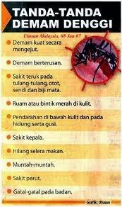 simptom denggi
