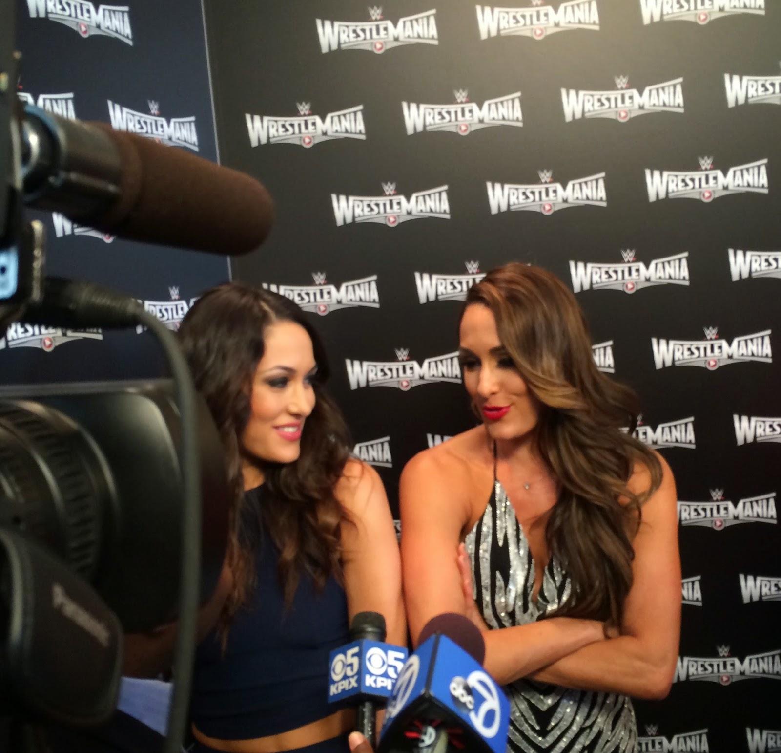 WrestleMania 31 Divas media press
