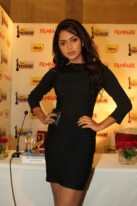 amala paul at 59th filmfare awards press meet amala paul at filmfare magazine cover june 2012 latest photos