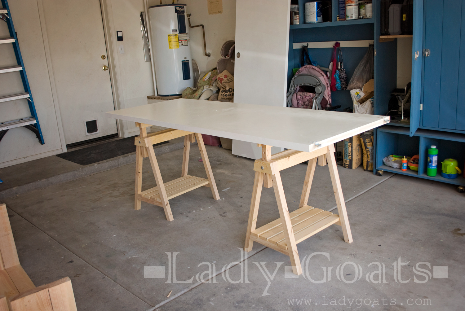 Hereu0027s The First One Finished, And I Used It As A Worktable To Build The  Second. It Was Awesome. Set To The Third Notch, Itu0027s A Little Taller Than  ...