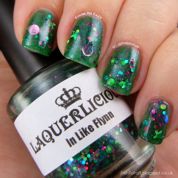 Swatch of Laquerlicious In Like Flynn.