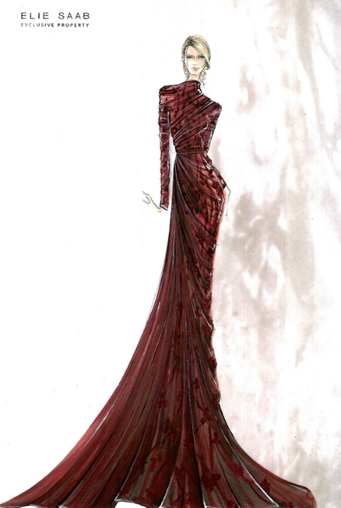 Costume renderings on pinterest costume design costume for O couture fashion