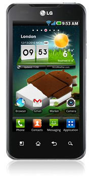 LG Optimus Android 4.0 Update