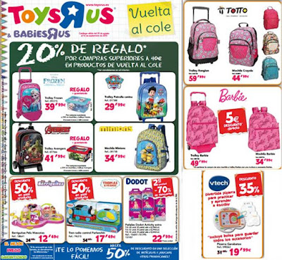 Folleto Vuelta al Cole 2015 ToyRUs