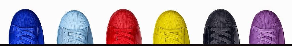 adidas femmes / hommes x pharrell williams au tennis hu primeknit dans des