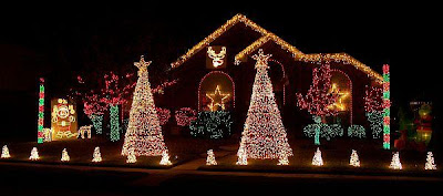 Outdoor christmas lights decorating ideas aloadofball