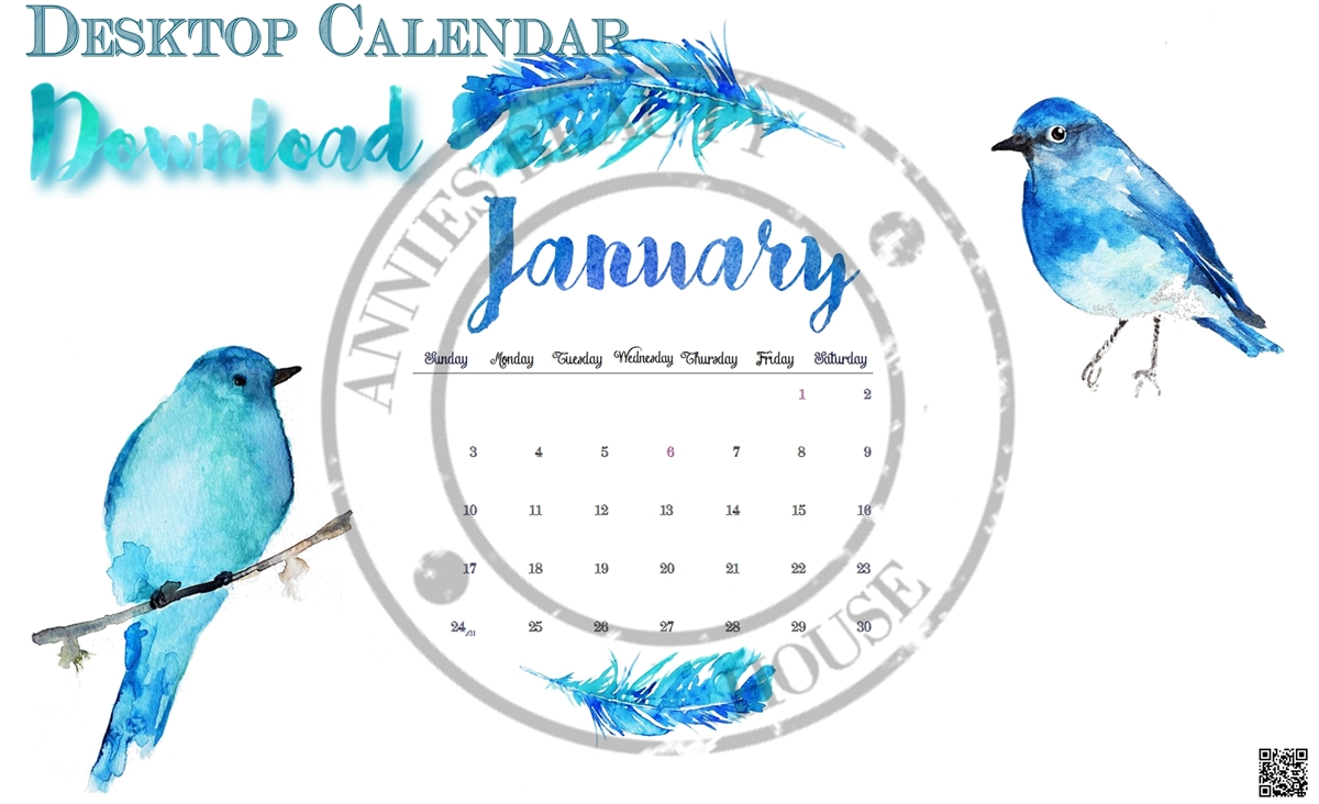 Main pic January 2016 Desktop Calender