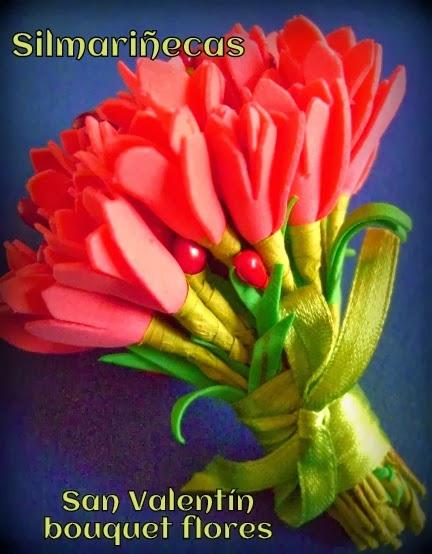 bouquet de flores barato y fácil