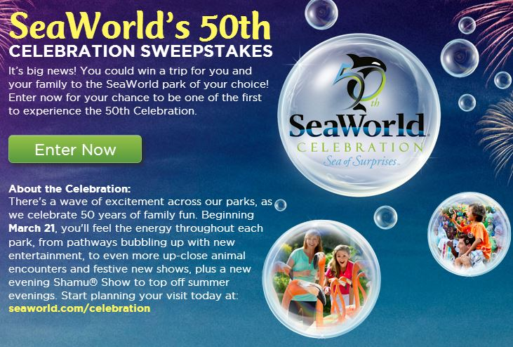 Sea world discounts coupons