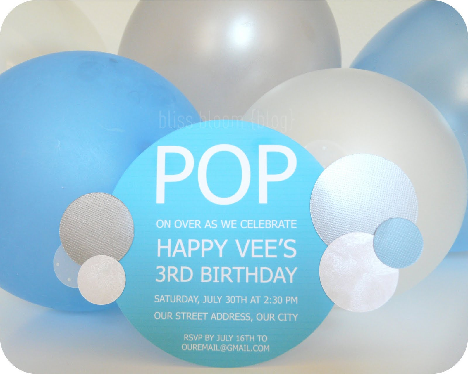 Bubble birthday party invitations filmwisefo