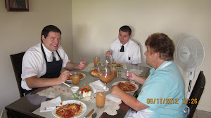 Elders Fisher and Marks at lunch