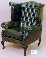 Reproduction executive armchair