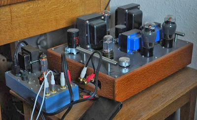 4S Universal Preamp with 6V6 Lacewood Amp