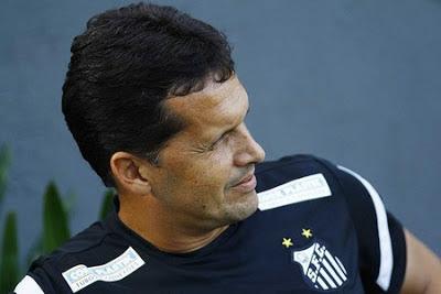Claudinei Oliveira técnico do Santos FC