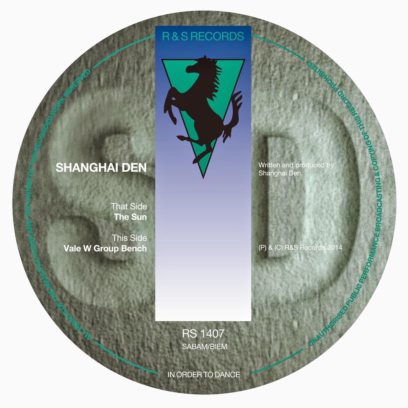 Discosafari - SHANGHAI DEN - The Sun / Vale W Group - R & S Records