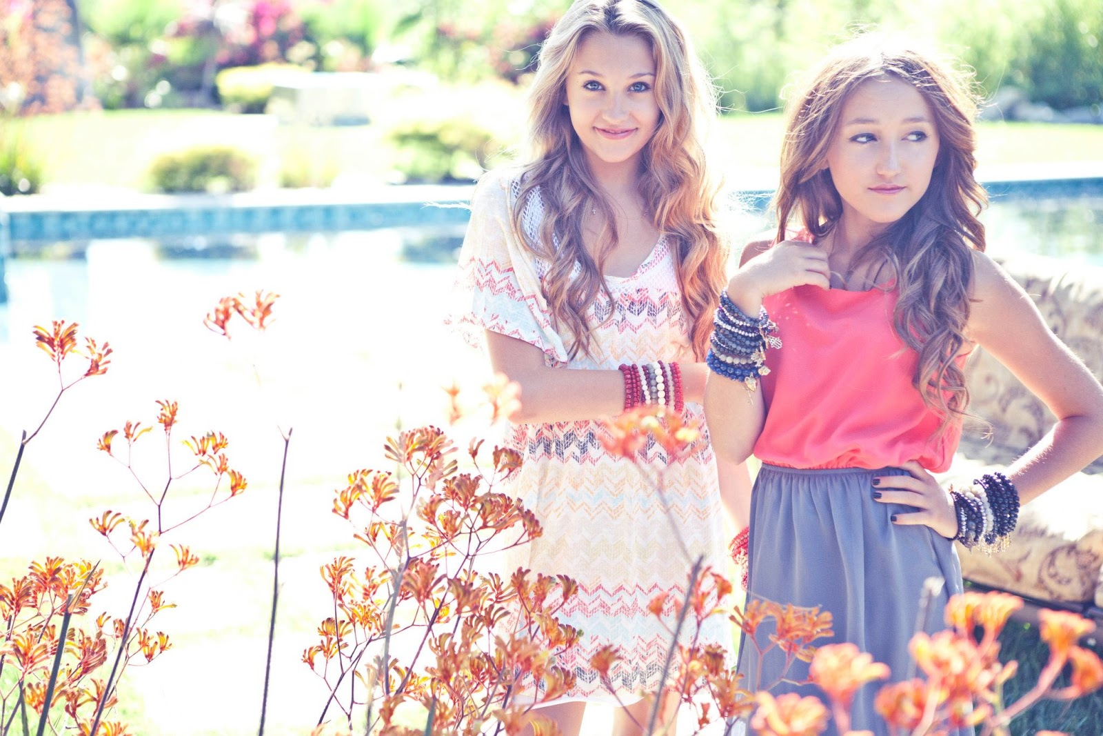 Noah Cyrus And Kelly Crook Photoshoot 2012 SCL♥