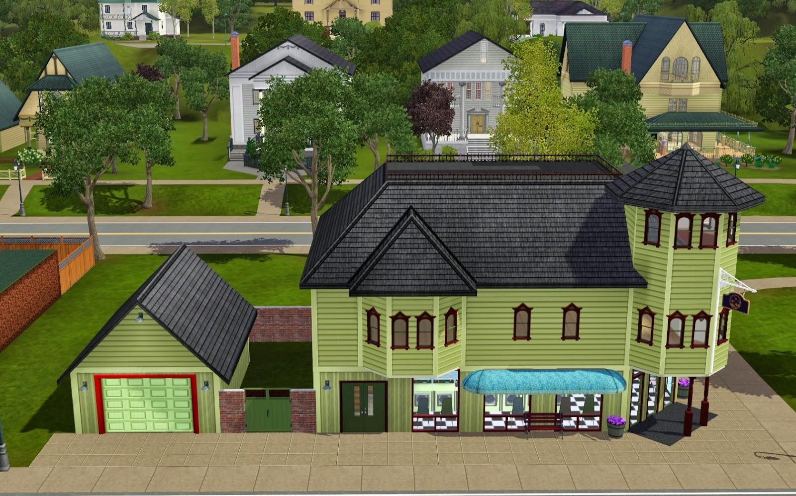 Summer\'s Little Sims 3 Garden: Twinbrook (The Sims 3: Ambitions ...