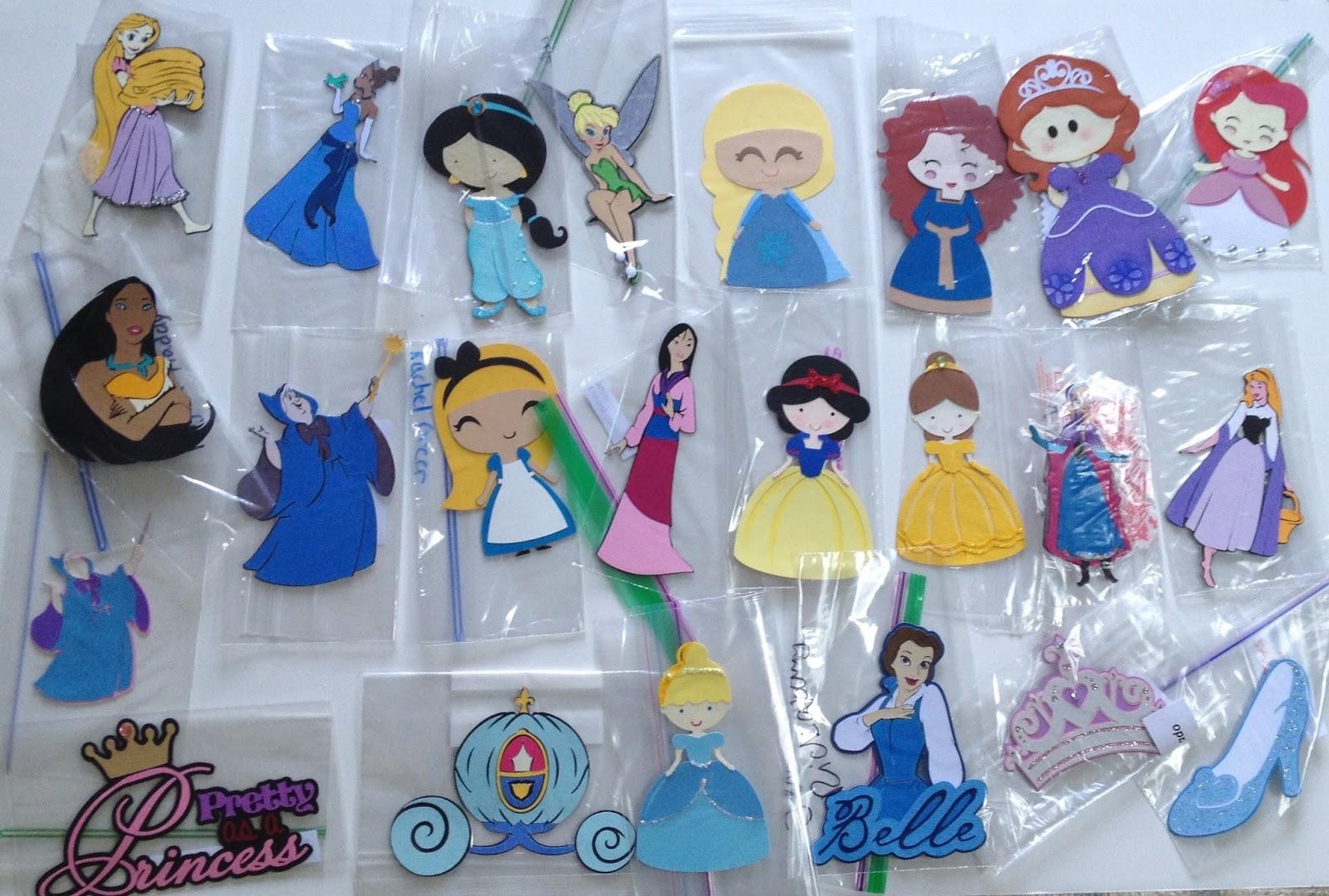 My Disney Life: Scrapbook Swap: Disney Princesses