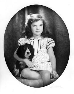 Jacqueline Bouvier, 1935.