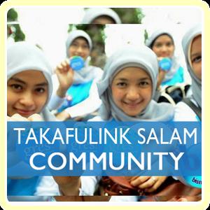 Takafulink Salam Komunitas (untuk Dana Pensiun grup/min 10 orang)