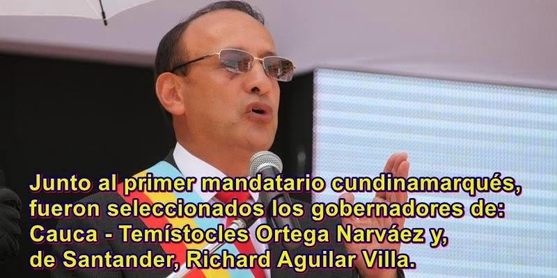 CUNDINAMARCA: GOBERNADOR CRUZ, UNO DE LOS TRES MEJORES GOBERNANTES DE PAÍS